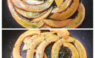 Лазанья с карамелизированной тыквой