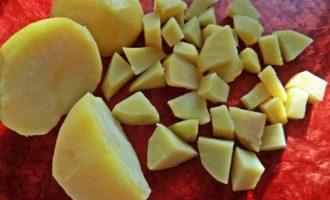 Постный суп с фасолью и овощами