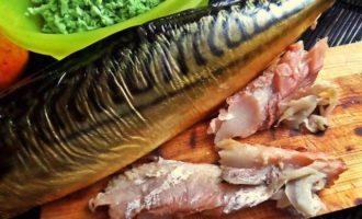Блины с сырно-рыбной начинкой
