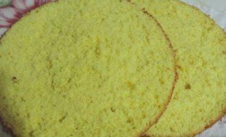 Почти идеальный белый бисквит, тепловой способ приготовления