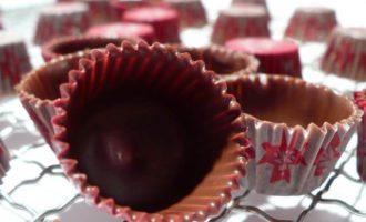 Домашние конфеты с пьяной вишней