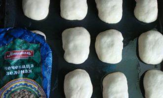 Постные пирожки с чечевицей и картофелем