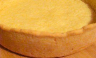 Чизкейк со смородиной, маскарпоне и апельсиновым тестом