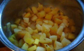 Яблочные сырники в овсяной панировке, без муки