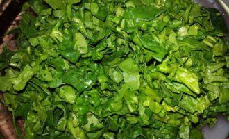Зеленый микс с кускусом