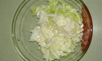 Капустно-яблочный нутрибласт с грецкими орешками