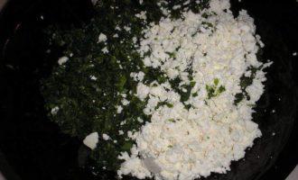 Кутабы с зеленью и сыром