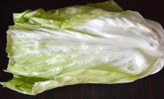 Французский сельский салат
