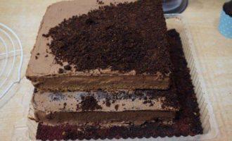 """Торт """"Шоколадная стройка"""""""