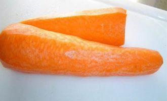 Рулет морковно-творожный
