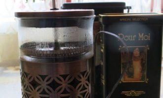 """Ледяной кофе в песочных штофах """"Палитра для гурмэ"""""""