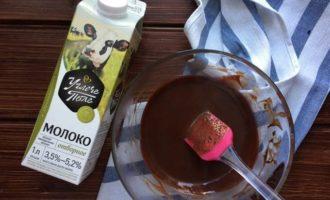 Профитроли с шоколадом