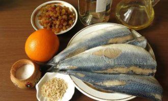 Рыбные рулетики с изюмом