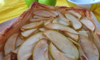 Деревенский яблочный тарт