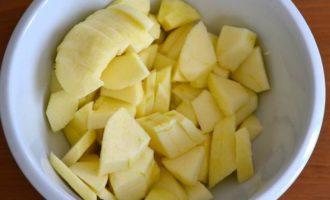 Яблочный макаронник