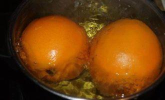 Апельсиновый кекс с миндальной мукой