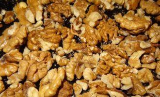 Ореховый торт с меренгами