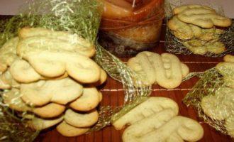 Тающее мятное печенье