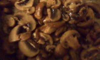 Тушеная тыква с грибами