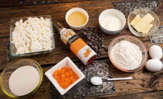 Ароматный кекс с апельсиновыми цукатами