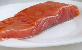 Мусс из копченого лосося