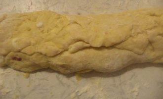 Апельсиновое печенье с клюквой и орехами