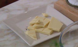 Овсяное печенье с ягодами и белым шоколадом