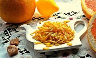 Как быстро высушить цедру лимона