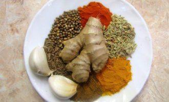 Карри с курицей - аромат Индии