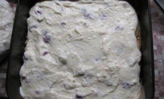 Ревенево-пудинговый пирог
