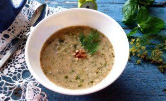 "Вегетарианский суп ""Шечаманды"""