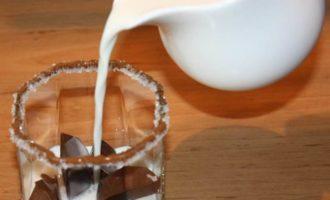 Ледяной кофе в жаркий день