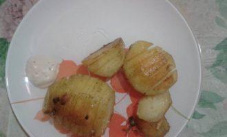 Очень вкусный и ароматный картофель