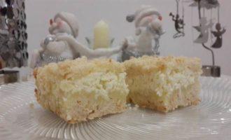 """Пирог """"Новогодний"""" с ананасом и кокосом"""
