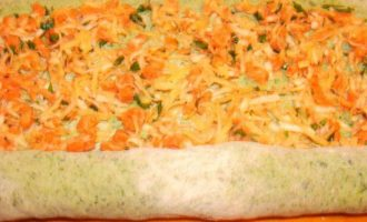 Теплый тартар ролл из семги
