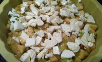 Яблочный пирог с сыром уэнслидейл