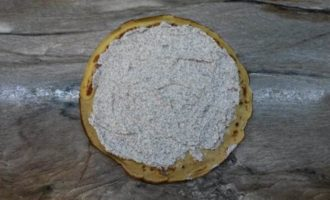 Цитрусовые блины с творожно-маковой начинкой