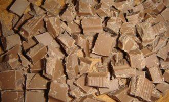 Шоколадные сырники в духовке