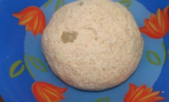 Хлеб на печеной картошке