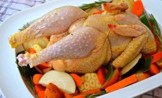 Воскресное жаркое из цыпленка