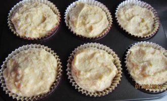 Кексы с лимоном, миндалем и ликером