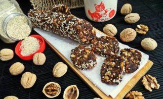 Фруктово-ореховая колбаса