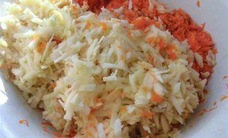 Тыквенный салат с апельсином