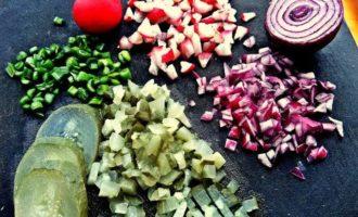 Блины на картофельном отваре с начинкой