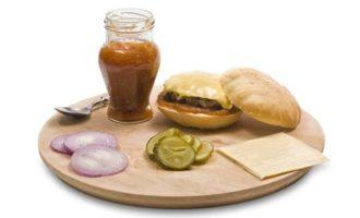 Вкусный чизбургер