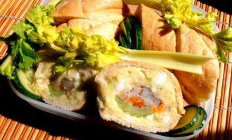 """Рыбный багет для """"Вперед на пикник!"""""""