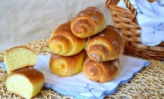 Сливочные булочки