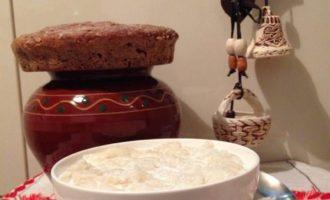 Локшины, старинное белорусское блюдо из крахмальных блинчиков
