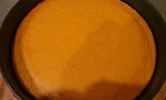 Тыквенный чизкейк с заварным апельсиновым кремом