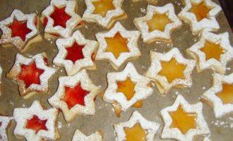 """Рождественское печенье """"Линцевские звезды и сердца"""""""